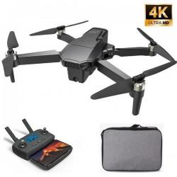 Квадрокоптер KF107 - дрон з 4K і HD камерами, GPS, 5G WiFi, FPV, БК мотори, 1.2 км, до 25 хв. + сумка